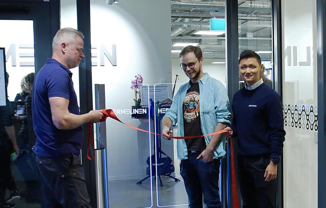 Hermelinen inaugurated their new gym