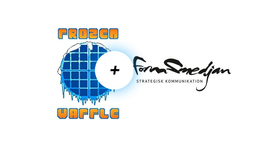 Formsmedjan and Frozen Waffle starts collaboration