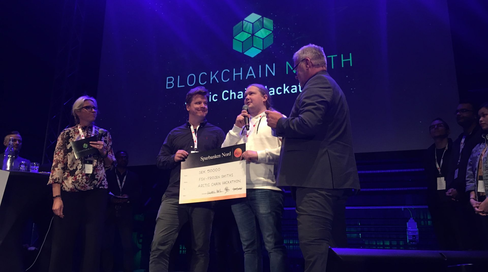 Thanks for Blockchain North and Arctic Chain Hackathon!